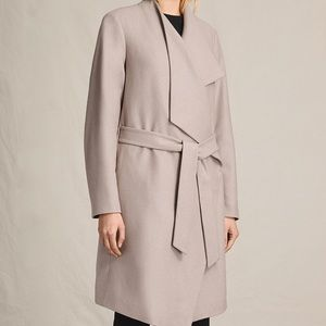 dc9bcd884305 All Saints Jackets   Coats - 🆕 Allsaints Lora Coat Pebble Grey